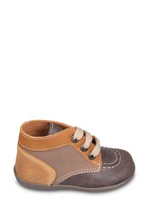 0130A4 Kifidis Melania Hakiki Deri İlk Adım Çocuk Ayakkabısı 19-24