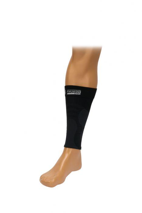 0341 Thuasne Spor Esnasında Kullanılan Kompresyon Çorabı Siyah / Black