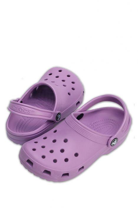 10001 Classic Crocs Unisex Sandalet 36-48 Orchid - Mor
