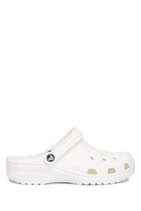 10001 Classic Crocs Unisex Sandalet 36-48 Beyaz / White