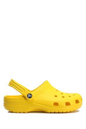 10001 Classic Crocs Unisex Sandalet 36-48 LEMON