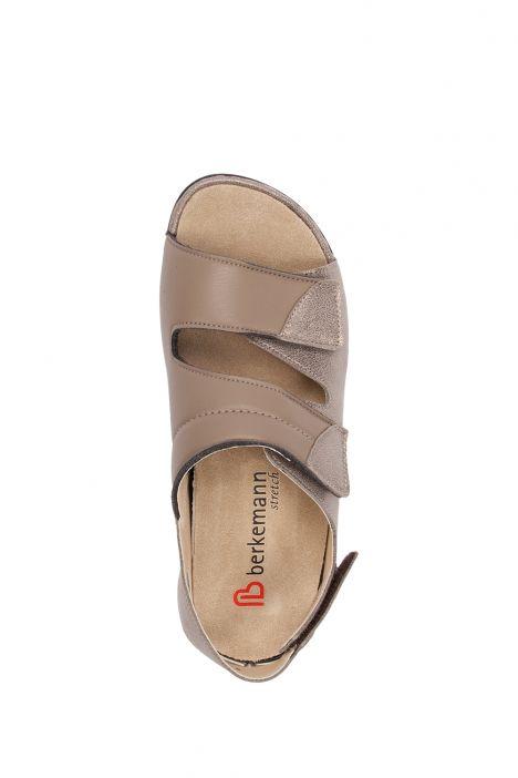 1020 Berkemann Kadın Anatomik Sandalet 3.0-8.5 Bronze/Glitter Leather/Str. - 431G