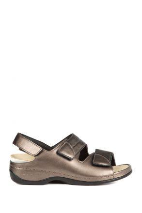1020 Berkemann Kadın Sandalet 3.0-8.5 Antik Gold Led./Strc. - 634