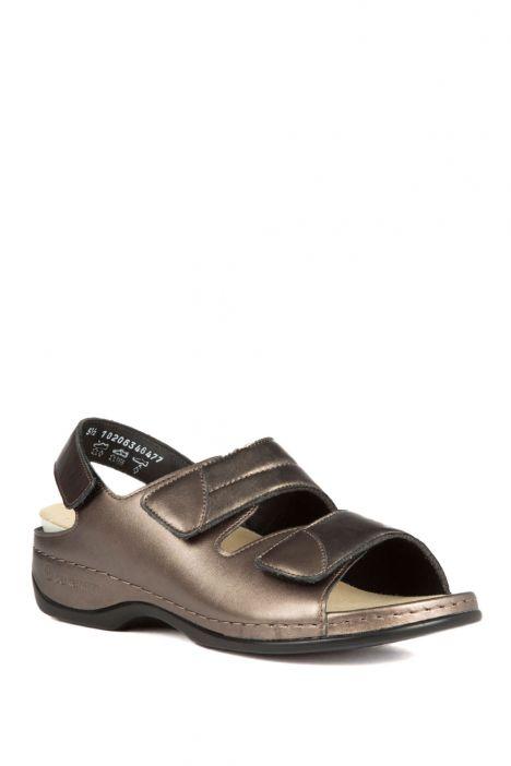 1020 Berkemann Kadın Anatomik Sandalet 3.0-8.5 Antik Gold Led./Strc. - 634