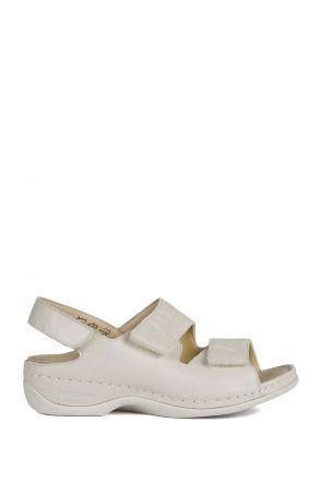 1020 Berkemann Kadın Sandalet 3.0-8.5 Beige Perlato - 752