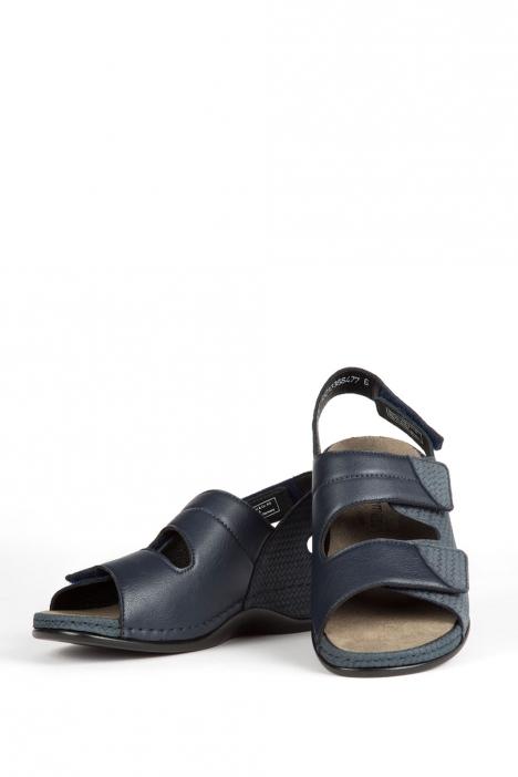 1020 Berkemann Kadın Anatomik Sandalet 3.0-8.5 Blau Pragenubuk - 336