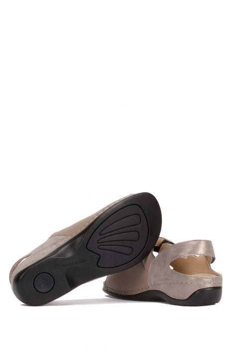 1020 Berkemann Kadın Sandalet 3.0-8.5 Bronze/Glitter Leather/Str. - 431G