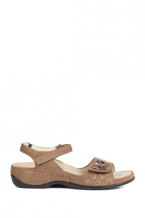 1026 Berkemann Kadın Anatomik Sandalet 3.0-8.5 Dkl.braun Millefeuilleled/Str. - B-439