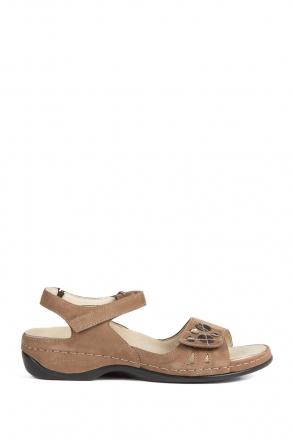 1026 Berkemann Kadın Sandalet 3.0-8.5 Dkl.braun Millefeuilleled/Str. - B-439