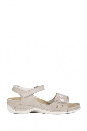 1026 Berkemann Kadın Sandalet 3.0-8.5 Grey Nubuck - 980