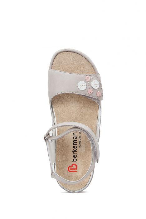 1026 Berkemann Kadın Anatomik Sandalet 3.0-8.5 Grey Nubuck - 980