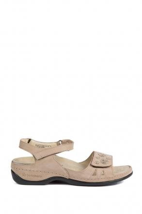 1026 Berkemann Kadın Sandalet 3.0-8.5 Mattbroun Nubuk - 449