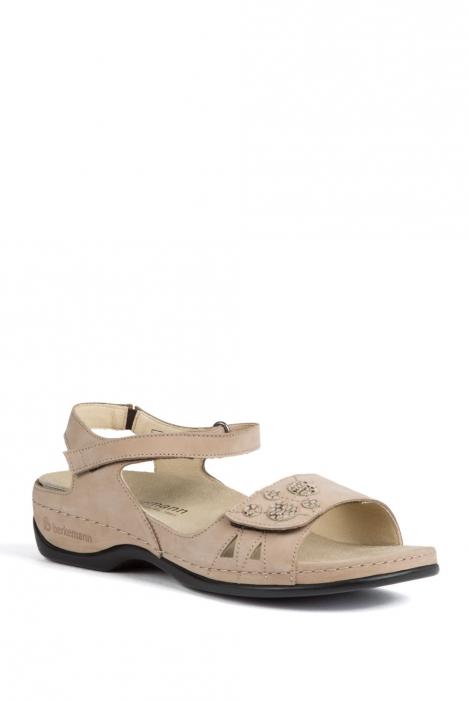 1026 Berkemann Kadın Anatomik Sandalet 3.0-8.5 Mattbroun Nubuk - 449