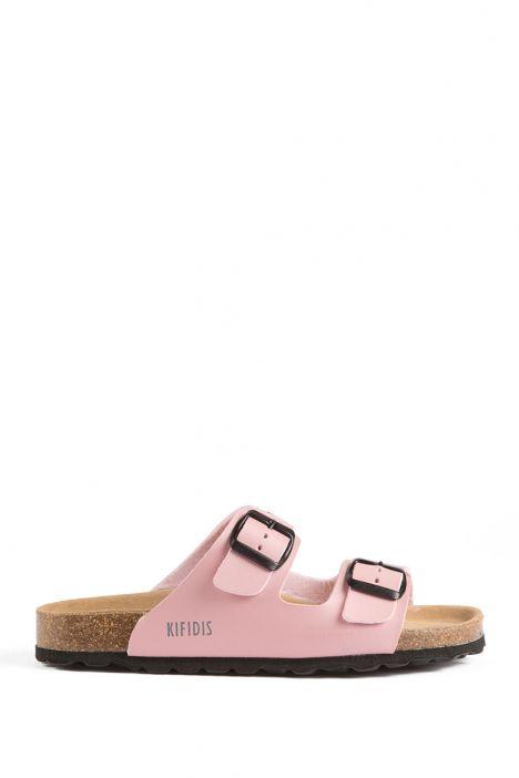 10260 Ch-Kifidis Kadın Terlik 36-42 Pink Bordado