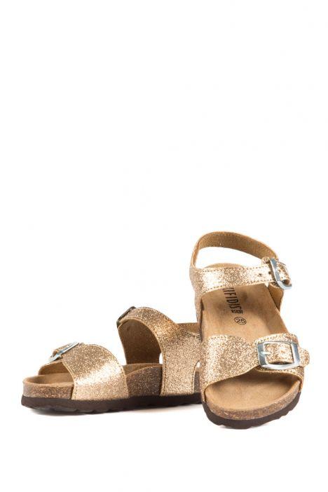 10273 Ch-Kifidis Çocuk Sandalet 24-30 Glitter Gold