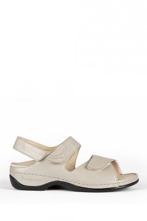 1040 Berkemann Kadın Anatomik Deri Sandalet 3.0-8.5 Broze Leather Phyton Strc. - 627