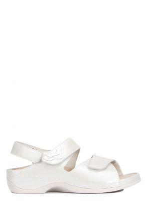 1040 Berkemann Kadın Aatomik Deri Sandalet 3.0-8.5