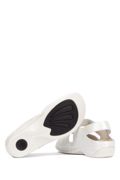 1040 Berkemann Kadın Aatomik Deri Sandalet 3.0-8.5 Silver Perlato/Str. - 146