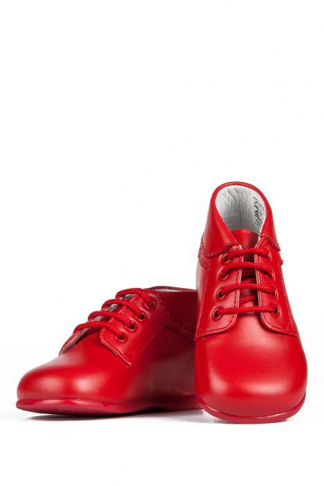 10407 Chiquitin İlk Adım Çocuk Ayakkabısı 19-24 Kırmızı / Rojo