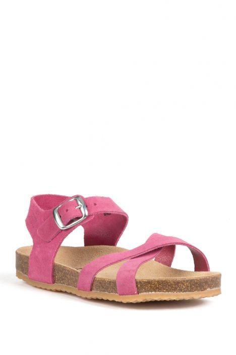 10888 Ch-Kifidis Çocuk Sandalet 31-35 Fuşya / Fuxia