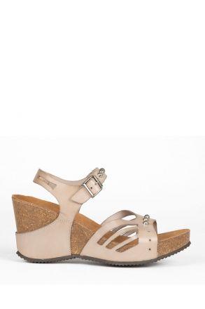 10969 Ch-Kifidis Kadın Sandalet 36-41 GRIS