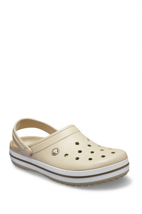11016 Crocs Crocband Unisex Sandalet 36-44 Cobblestone/Walnut