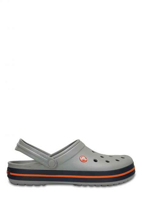 11016 Crocs Crocband Unisex Sandalet 36-44 Light Grey / Navy