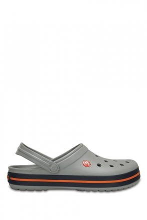 11016 Crocs Crocband Unisex Sandalet 36-44 Light Grey / Navy