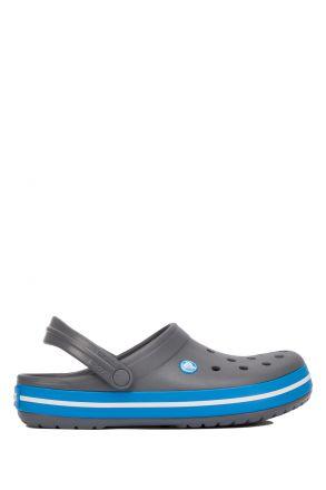 11016 Crocs Crocband Unisex Sandalet 36-44 Charcoal / Ocean
