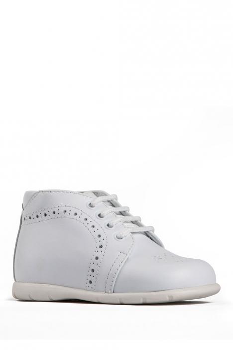 11504 Chiquitin İlk Adım Çocuk Ayakkabısı 19-24 Beyaz / Bianco