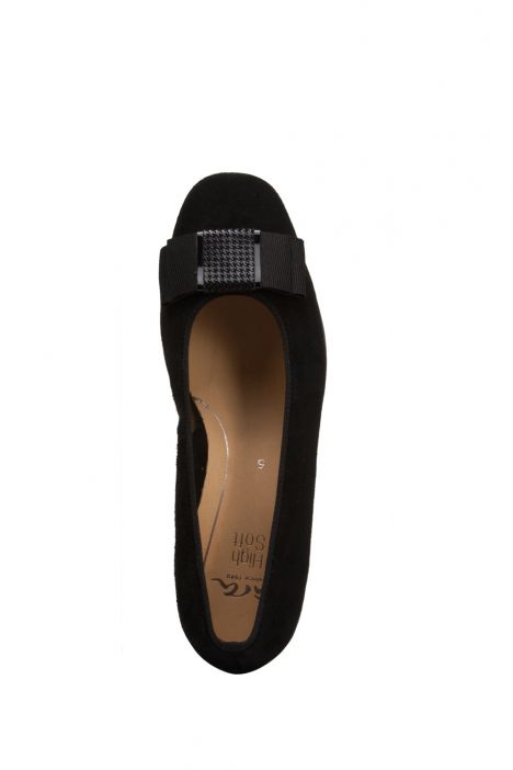 11884 Ara Kadın Topuklu Süet Ayakkabı 3.5-9.0 SAMTCHE,LAC/PEP,BLACK - 01SB