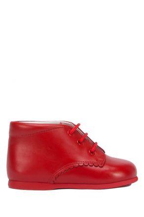 1194 Chiquitin İlk Adım Çocuk Ayakkabısı 17-23 Kırmızı / Rojo