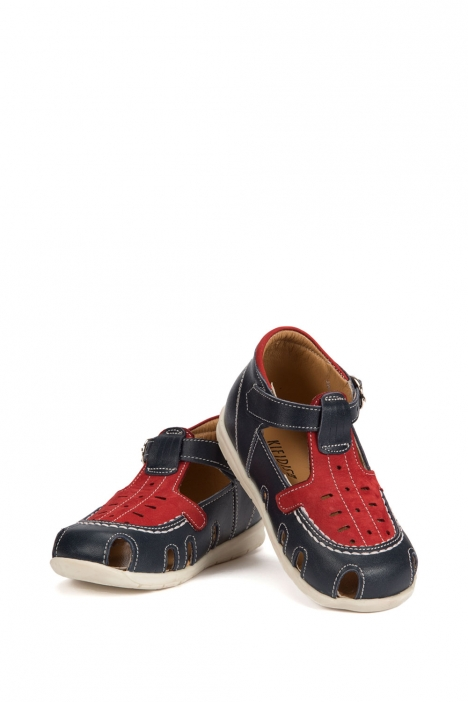 120 Kalite Çocuk Ayakkabı 25-30 LACI-KIRMIZI