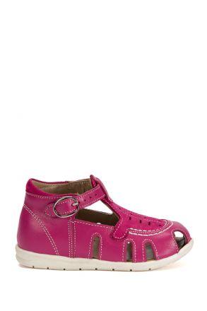 120 Kalite İlk Adım Çocuk Ayakkabısı 19-24 Fuşya / Fuxia