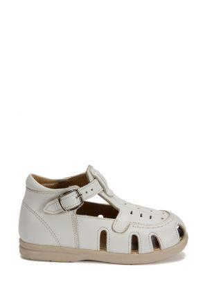 120 Kalite İlk Adım Çocuk Ayakkabısı 19-24 Beyaz / Bianco