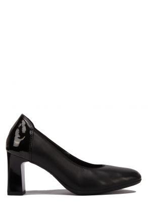 12011 Ara Kadın Topuklu Deri Ayakkabı 3.5-7.5