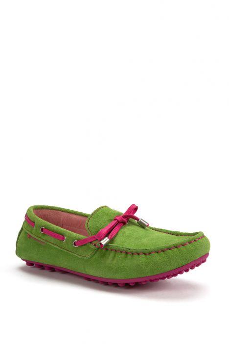 122920 Garvalin Çocuk Ayakkabı 31-38 LIME
