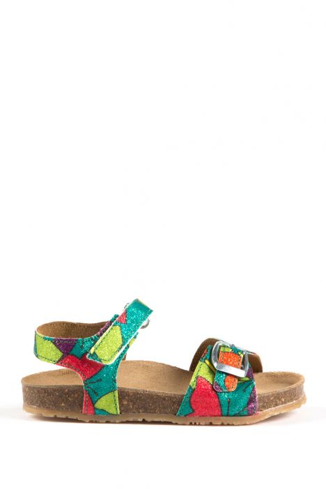 12352 Kifidis-Ch Çocuk Sandalet 24-30 Glitter Marili