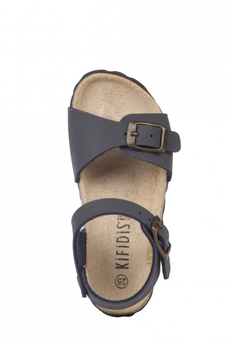 1253 Kifidis DS Çocuk Sandalet 21-29 Mavi / Blue