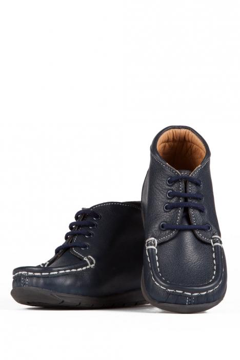 128 Kalite Çocuk Ayakkabı 25-30 Lacivert / Navy