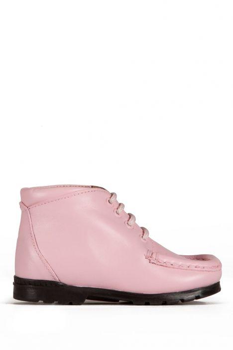 128 Kalite Çocuk Ayakkabı 25-30 Pembe / Pink