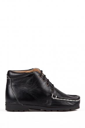 128 Kalite İlk Adım Çocuk Ayakkabısı 19-24 Siyah / Black
