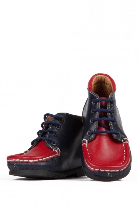 128 Kalite İlk Adım Çocuk Ayakkabısı 19-24 LACI-KIRMIZI