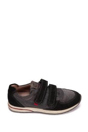 131592 Garvalin Çocuk Ayakkabı 35-38 Siyah / Negro