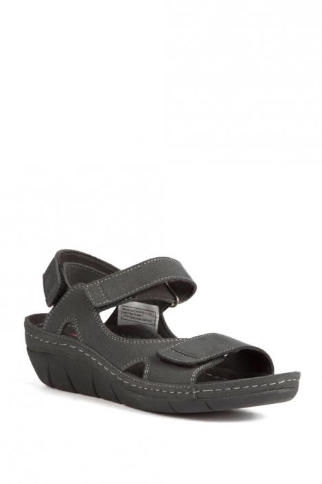 1320 Berkemann Kadın Anatomik Sandalet 3-7,5 Nub.Grey - 947