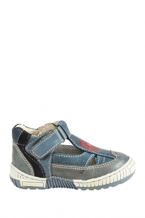 1345B2E Kifidis Melania Hakiki Deri İlk Adım Çocuk Ayakkabısı 20-26 JEANS