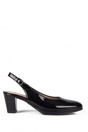 13485 Ara Kadın Topuklu Rugan Ayakkabı 3-7