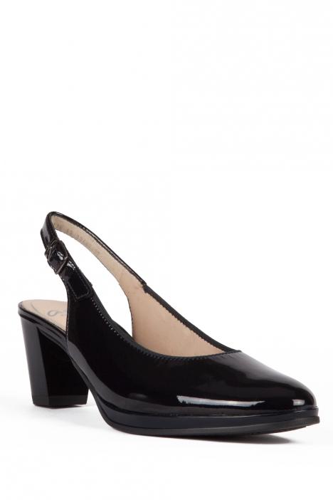 13485 Ara Kadın Topuklu Rugan Ayakkabı 3-7 SOFTLACK, BLAU - 07SB