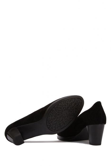 13493 Ara Kadın Topuklu Süet Ayakkabı 4.0-6.5 SAMTCHEVRO, SCHWARZ - 01SS