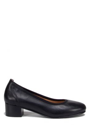 1387 Kifidis Kadın Topuklu Deri Ayakkabı 36-41
